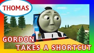 Gordon Takes A Shortcut | Thomas and Friends Accidents will Happen Roblox Remake