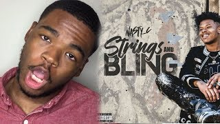 NASTY C | STRINGS & BLING ALBUM REACTION