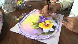 getlinkyoutube.com-Mulher.com 10/07/2013 Ana Laura Rodrigues - Pintura em tecido Parte 2/2