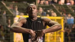 getlinkyoutube.com-200m - Usain Bolt - 19.57 - Golden League Brussels 2009