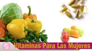 getlinkyoutube.com-Las Mejores Vitaminas Para Mujeres