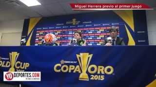 Miguel Herrera admite que si no ganan la Copa Oro sera un fracaso