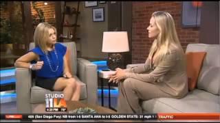 getlinkyoutube.com-Kristanna Loken Guest on Fox 11 LA