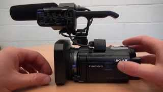 Beginner's Guide to Using Sony NX-30 Video Camera - Part 01