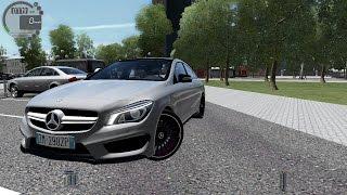 getlinkyoutube.com-City Car Driving 1.5.2 Mercedes CLA 45 AMG [G27]