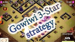 getlinkyoutube.com-Clash Of Clans GoWiWi attack strategy - destroy max th10