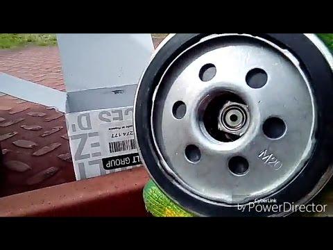Где у Dacia Сандеро щуп для проверки масла