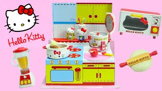 getlinkyoutube.com-Hello Kitty Happy Kitchen Rement Collectibles
