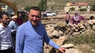 Nevşehir Milletvekili Açıkgöz, selden zarar gören köyleri ziyaret ediyor