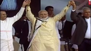 Indian PM Narendra Modi declares open Dickoya Base Hospital