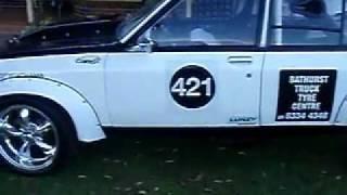 getlinkyoutube.com-TORANA, 355 stroker, race, track, drift, drag, show, turbo, custom, hill climb,