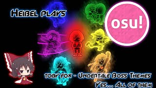 getlinkyoutube.com-Osu! - Toby Fox - Undertale Boss Themes [Marathon]