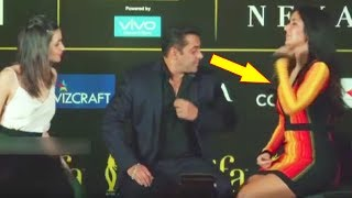 Salman Khan Saved Katrina Kaif From Suffering  Oops Moment