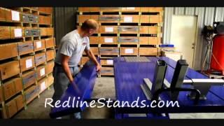 getlinkyoutube.com-Kernel 1500 LB Motorcycle ATV Lift Table