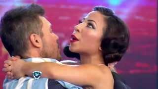 getlinkyoutube.com-Showmatch 2014 - Noelia soportó que Maldito Peke quiera conquistarla y la rompió en la pista