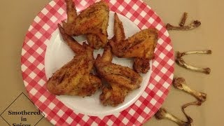 Baked Chicken Wings with a Creole Kick Recipe - Smothered in Spices - Episode 4 - I heart this