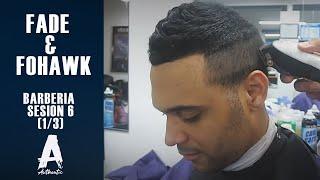 getlinkyoutube.com-barberia sesion 6 (1/3) fade & fohawk