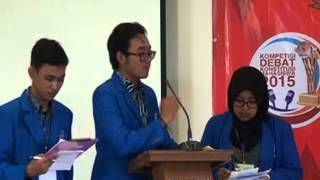 getlinkyoutube.com-Final Debat Konstitusi UII vs Muria Kudus Lomba Debat MK