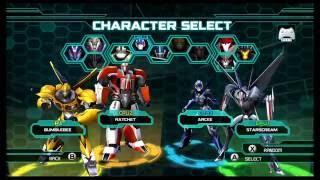getlinkyoutube.com-Transformers Prime The Game Wii U Multiplayer Emblem Battle part 1