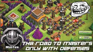 Th8 troll base 2015 - road to master's league