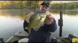 getlinkyoutube.com-Larry Smith Outdoors - Fall Crappies on the Wolf River
