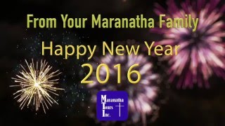 Happy New Year from the Gang at Maranatha Tours