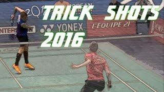 getlinkyoutube.com-Top 10 Badminton Trick Shots of 2016