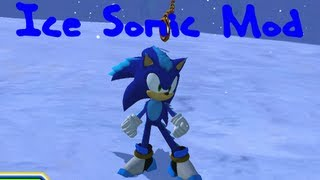getlinkyoutube.com-Sonic Generations - Icy Sonic Mod