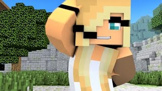 "Minecraft Songs ""Fight Like A Girl"" Psycho Girl 3 and Little Square Face Minecraft Songs"