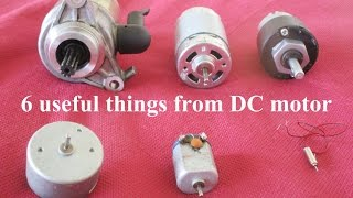 getlinkyoutube.com-6 Useful things from DC motor - Compilation - 6 Awesome Ideas
