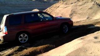 getlinkyoutube.com-Subaru Forester XT in sand pit