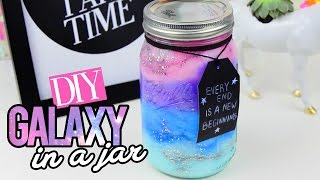 getlinkyoutube.com-DIY GALAXY IN A JAR