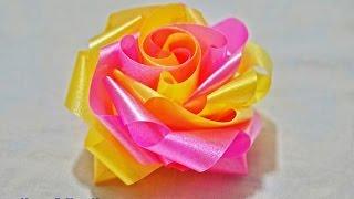 getlinkyoutube.com-สอนพับเหรียญโปรยทาน ดอกกุหลาบ 2 ชั้น (กลีบดอกชั้น 2 แบบเกลียว)