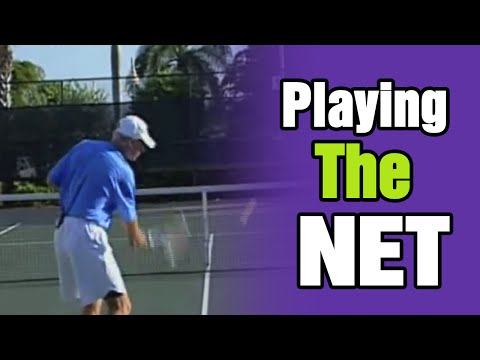 Tom Avery's Tennis Lessons - Get to the Net and Win