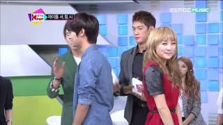 getlinkyoutube.com-[HD 1080p] CUT120921 VIXX :: N & Hongbin @ MBC Music - All The K-pop