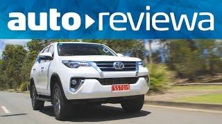 2016, 2017 Toyota Fortuner Video Review - Australia