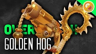 getlinkyoutube.com-THE GOLDEN HOG! - Overwatch Gameplay (Funny Moments)