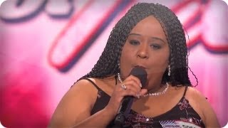 Sponjetta Parrish - Studio Song - America's Got Talent  Audition