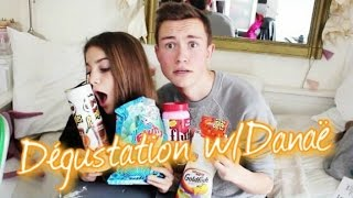 getlinkyoutube.com-☁Dégustation W/ Danaë | My American Market
