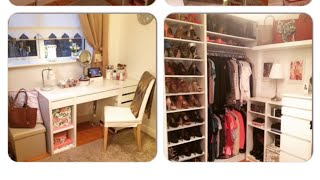 getlinkyoutube.com-My closet , walk in wardrobe , beauty and make up room !