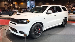 2018 Dodge Durango SRT – Redline: First Look – 2017 Chicago Auto Show