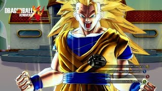 "getlinkyoutube.com-""GOKU TRANSFORMATION ANIMATIONS"" | Dragon Ball Xenoverse MOD"
