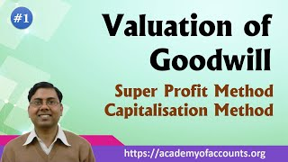 Super profit and Capitalisation Method [Valuation of Goodwill #1] width=