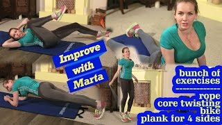 getlinkyoutube.com-Bunch of exercises - Improve with Marta