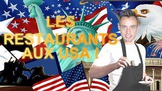 Les restaurants aux Etats-Unis (English subtitles)