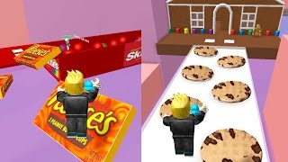 getlinkyoutube.com-Roblox / Candy World Obby Challenge / Gamer Chad Plays