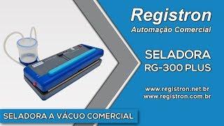 getlinkyoutube.com-Seladora a Vácuo RG-300 Plus - única com recipiente acolhedor de líquido