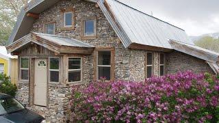 getlinkyoutube.com-Slipform Stone Masonry: Building a Slipform Stone House from the Bottom Up