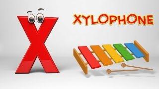 ABC Song | Phonics Letter X