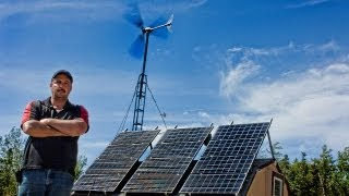 getlinkyoutube.com-off grid home pictou county nova scotia using solar panels and wind turbines